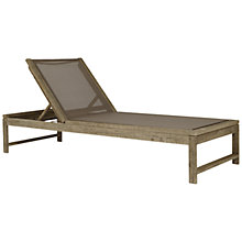Buy John Lewis Croft Collection Bilbao Lounger, Whitewash Online at johnlewis.com