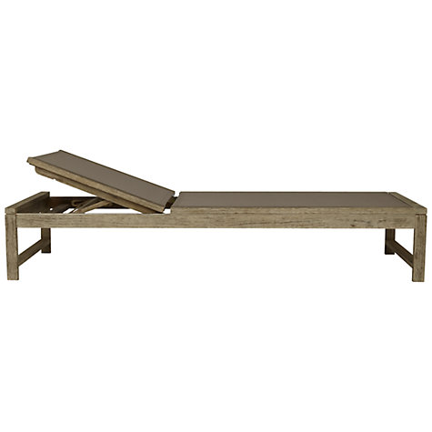 Buy John Lewis Croft Collection Bilbao Sunlounger Online at johnlewis.com
