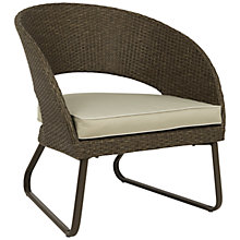 Buy John Lewis Corsica Outdoor Lounging Armchair Online at johnlewis.com