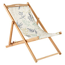Buy John Lewis Patterned Deckchair Online at johnlewis.com