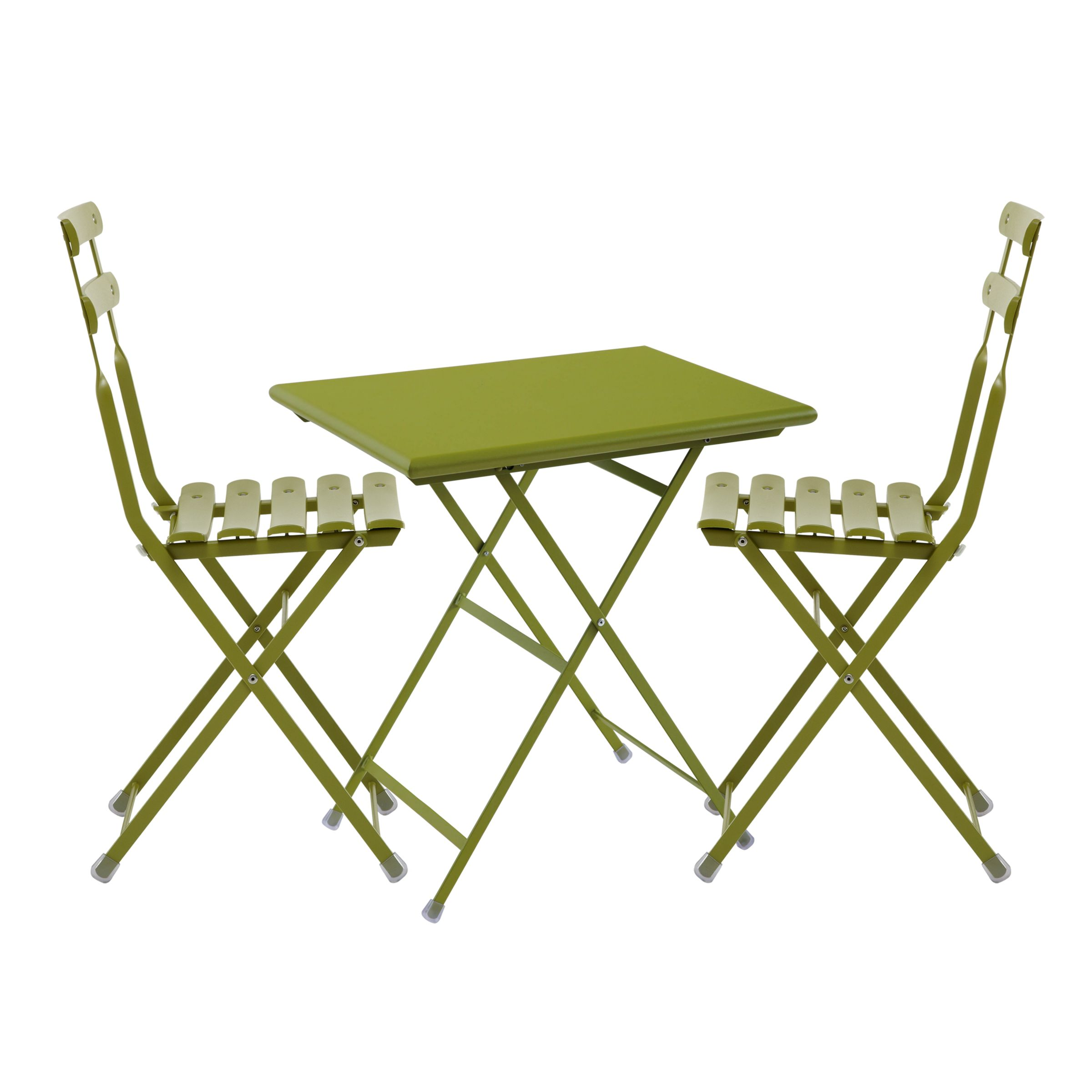 EMU Arc en Ciel 2 Seater Outdoor Bistro Set, Green