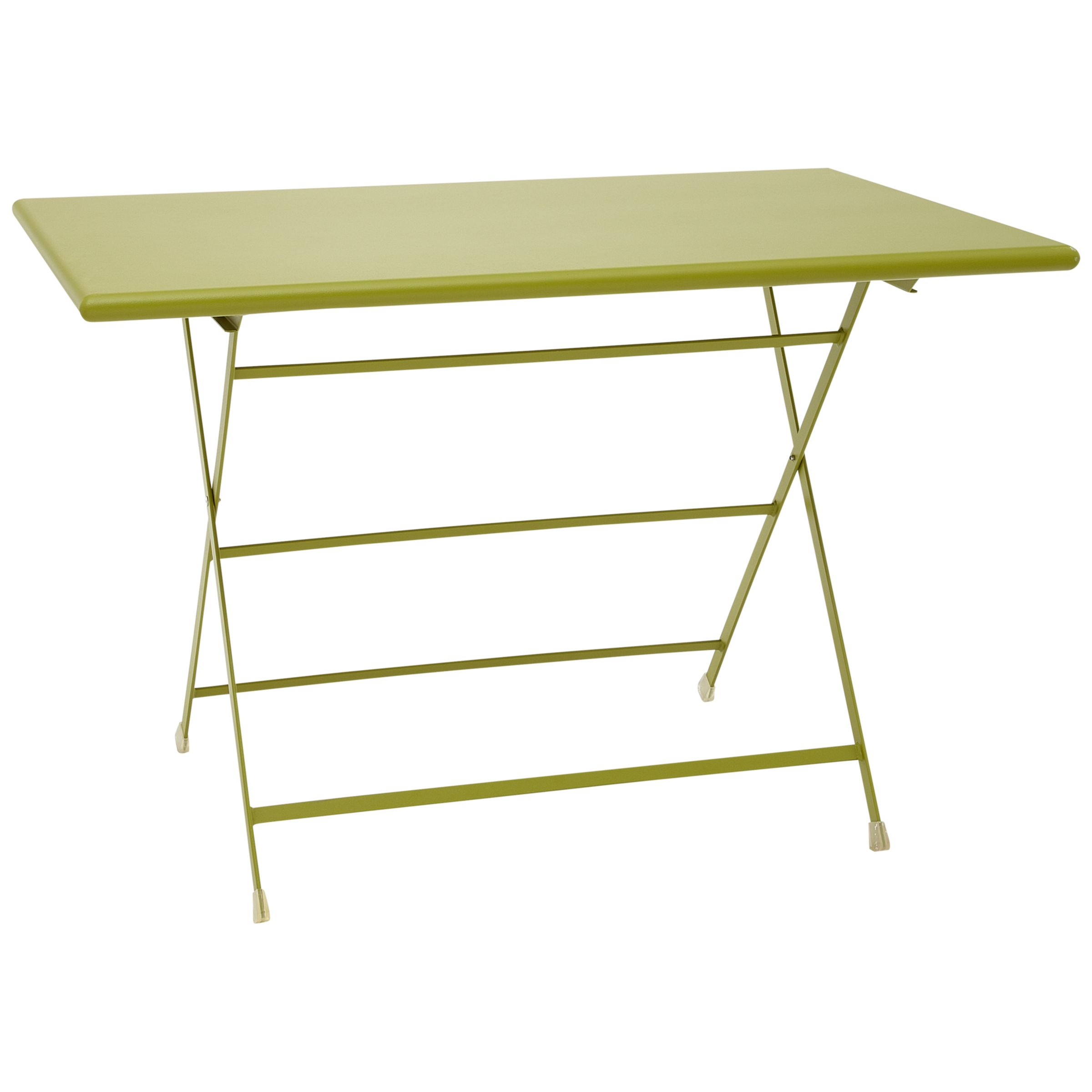 EMU Arc En Ciel Rectangular 4 Seater Outdoor Dining Tables, Green
