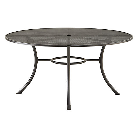Buy John Lewis Henley by Kettler 6 Seater Round Outdoor Dining Set Online at johnlewis.com
