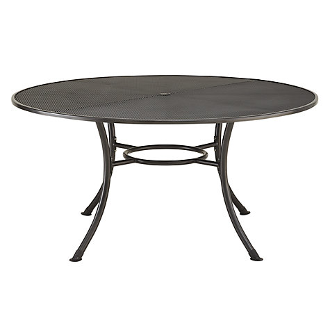Buy John Lewis Henley by Kettler Round 6 Seater Outdoor Dining Table Online at johnlewis.com