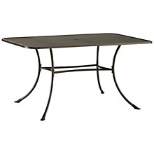 Buy John Lewis Henley by Kettler 6 Seater Rectangular Outdoor Dining Table Online at johnlewis.com