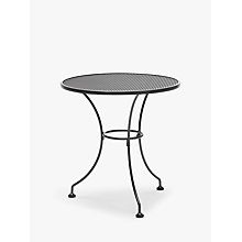 Buy John Lewis Henley by Kettler Round 2 Seater Outdoor Dining Table Online at johnlewis.com