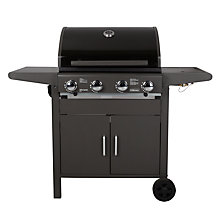 Buy John Lewis JL4- 2013 Compact 4 Burner Cabinet Barbecue Online at johnlewis.com
