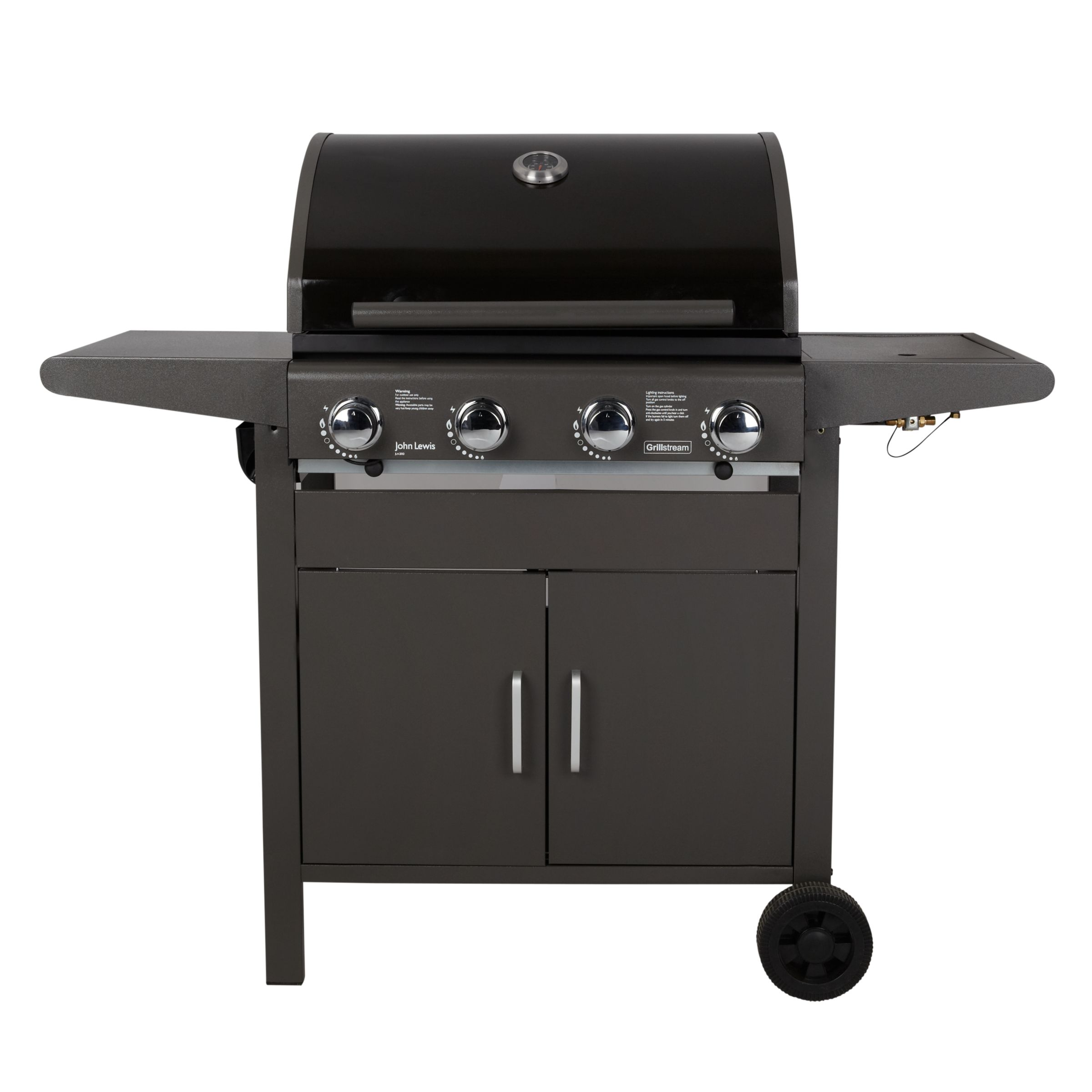 John Lewis JL4- 2013 Compact 4 Burner Cabinet Barbecue