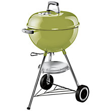 Buy Weber One Touch Original Charcoal Barbecue, 47cm, Spring Green Online at johnlewis.com