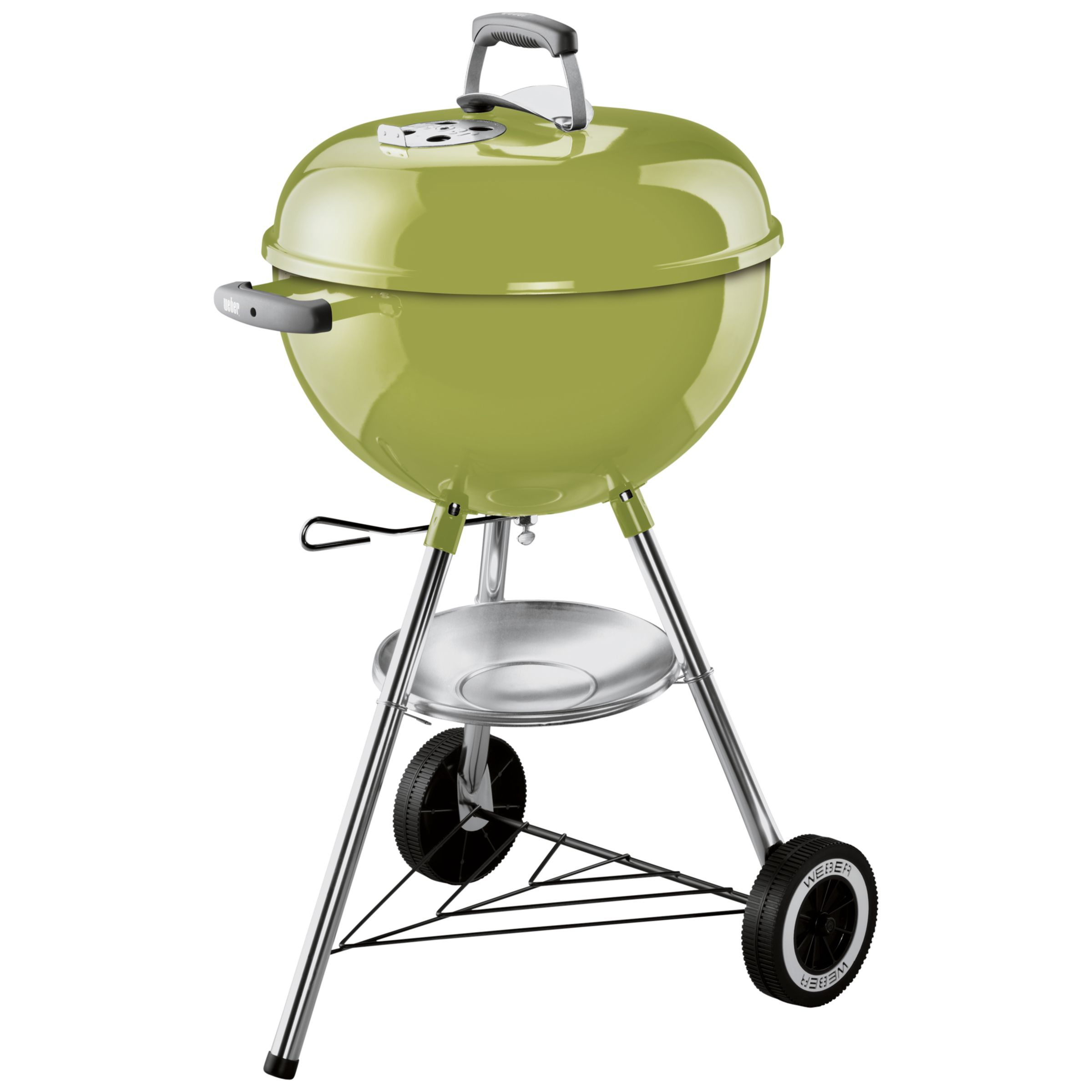 Weber One Touch Original Charcoal Barbecue, 47cm, Spring Green