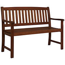 Buy John Lewis Naples 2-Seat Garden Bench Online at johnlewis.com
