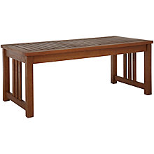 Buy John Lewis Naples Outdoor Coffee Table Online at johnlewis.com