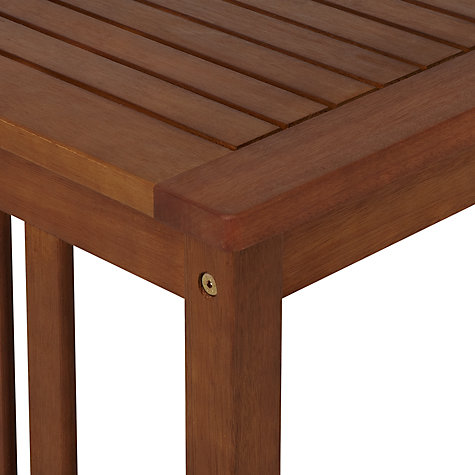 Buy John Lewis Naples 6-Seat Outdoor Coffee Table Online at johnlewis.com