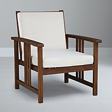 Buy John Lewis Naples Lounging Armchair Online at johnlewis.com