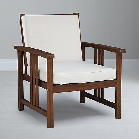 Buy John Lewis Naples Outdoor Lounging Armchair Online at johnlewis.com