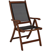 Buy John Lewis Naples Reclining Dining Chair, FSC-certified (Eucalyptus) Online at johnlewis.com