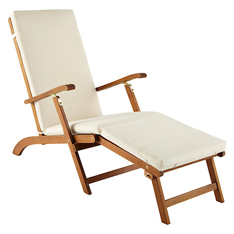 Buy John Lewis Naples Outdoor Lounger Online at johnlewis.com