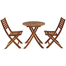 Buy John Lewis Naples 2 Seater Outdoor Bistro Set Online at johnlewis.com
