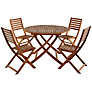 Buy John Lewis Naples 4 Seater Outdoor Dining Set Online at johnlewis.com