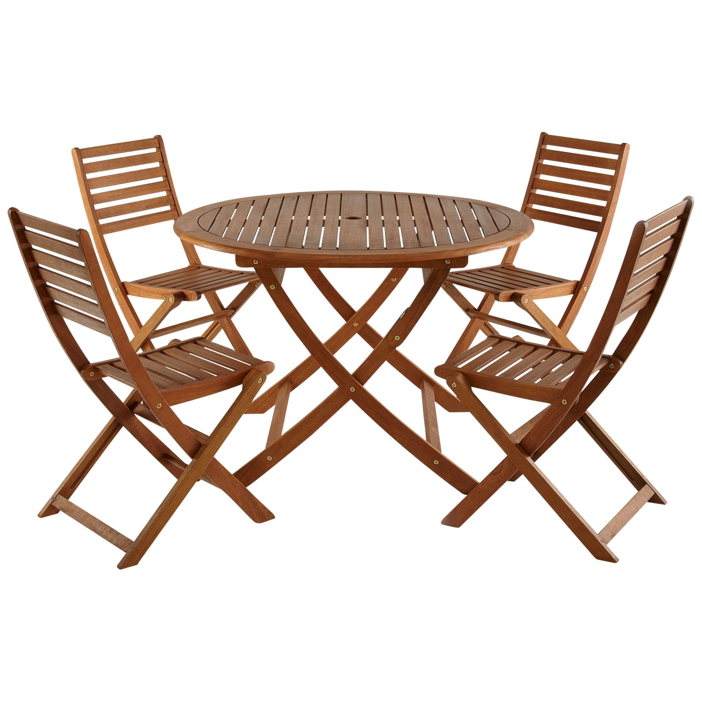John Lewis Naples 4 Seater Outdoor Dining Set