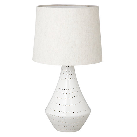 Buy John Lewis Shelby Gloss Porcelain Table Lamp Online at johnlewis.com