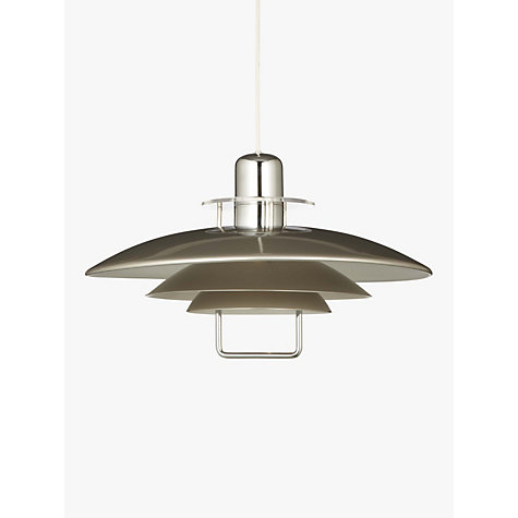 Buy Belid Felix Pendant, Satin Nickel Online at johnlewis.com