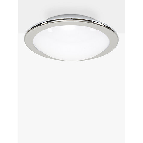 Buy Belid Lux LED Flush Bathroom Light, Chrome Online at johnlewis.com