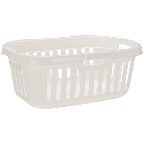 Buy John Lewis Contoured Laundry Basket Online at johnlewis.com