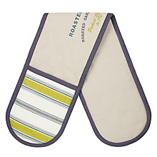 Buy John Lewis Botanist Recipe Double Oven Glove Online at johnlewis.com