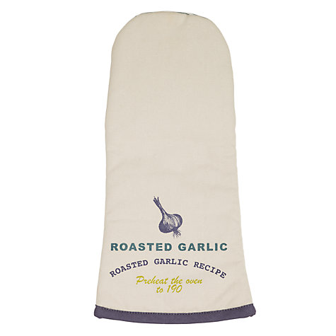 Buy John Lewis Botanist Recipe Oven Mitt Online at johnlewis.com