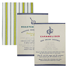 Buy John Lewis Botanist Recipe Tea Towel Set Online at johnlewis.com