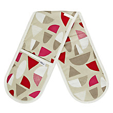 Buy House by John Lewis Cotton Double Oven Glove Online at johnlewis.com