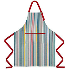Buy John Lewis Pioneer Stripe Apron Online at johnlewis.com