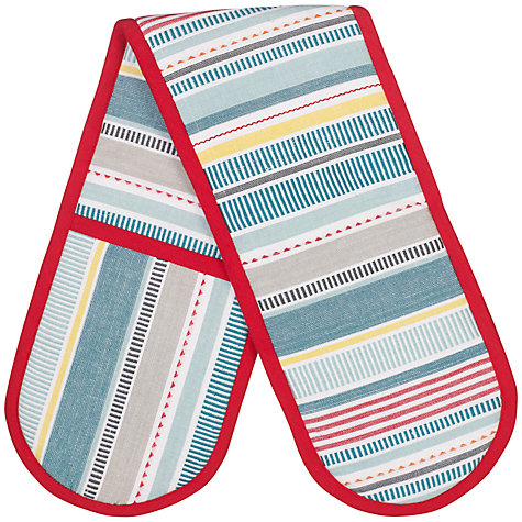 Buy John Lewis Pioneer Stripe Double Oven Glove Online at johnlewis.com