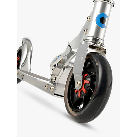 Buy Micro Scooters Micro Speed Scooter, Grey Online at johnlewis.com