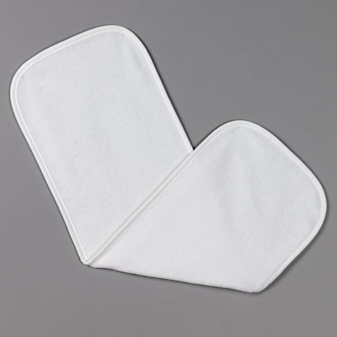Buy John Lewis Terry Burp Cloths, Pack of 4 Online at johnlewis.com