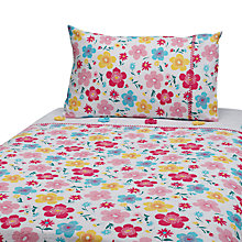Buy John Lewis Happy Mix Cotbed Duvet Cover and Pillow Set, Multi Online at johnlewis.com