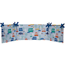 Buy John Lewis Transport Bumper, Blue/Multi Online at johnlewis.com