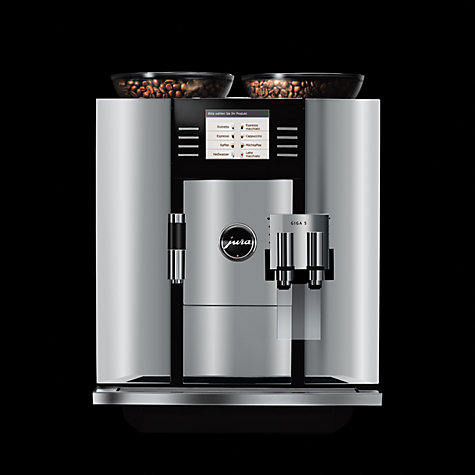 Buy Jura Giga 5 One Touch Bean-to-Cup Coffee Machine, Aluminium Online at johnlewis.com