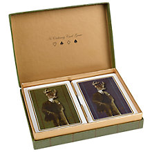 Buy Ted Baker Playing Cards, Pack of 2 Online at johnlewis.com