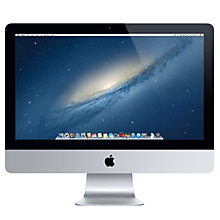 "Buy New Apple iMac MD093B/A Desktop Computer, Intel Core i5, 2.7GHz, 8GB RAM, 1TB with 21.5"" Monitor Online at johnlewis.com"