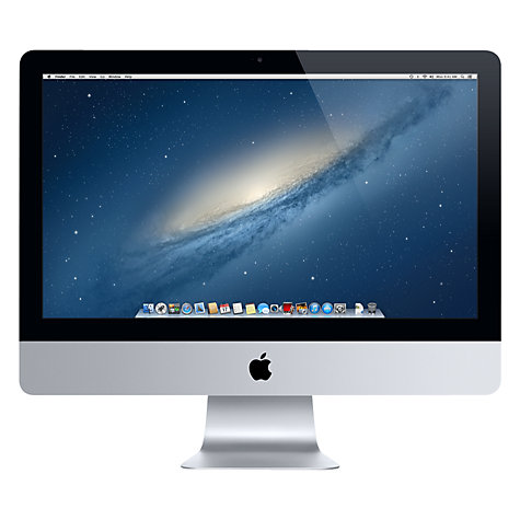 "Buy New Apple iMac ME089B/A All-in-One Desktop Computer, Intel Core i5, 8GB RAM, 1TB, 27"" Online at johnlewis.com"