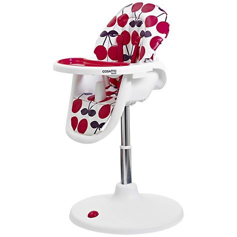 Buy Cosatto 3Sixti Circle Highchair, Cherry Pop Online at johnlewis.com