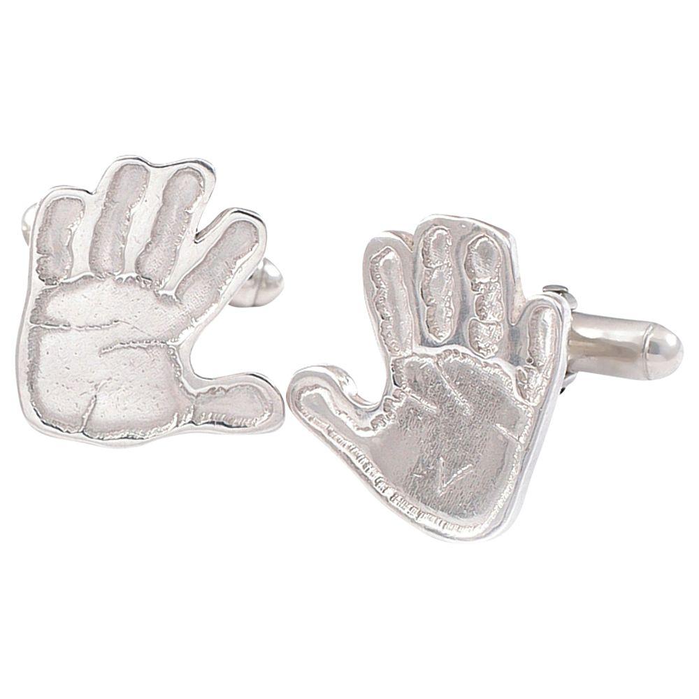 FingerPrint Jewellery FingerPrint Jewellery Handprint Cufflinks