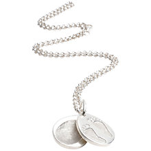 Buy FingerPrint Jewellery Ten Tiny Toes Teardrop Locket Necklace Online at johnlewis.com
