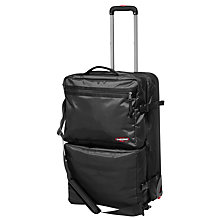 Buy Eastpak Excite 7 2-in-1 Soft Side Suitcase, Medium, Black Online at johnlewis.com