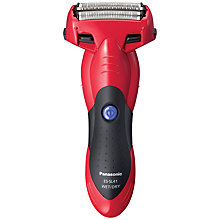 Buy Panasonic ES-SL41 Milano 3-Blade Wet and Dry Shaver, Red Online at johnlewis.com