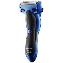 Buy Panasonic ES-SL41 Milano 3-Blade Wet and Dry Shaver, Blue Online at johnlewis.com