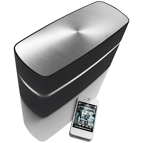 Buy B&W A5 Speaker with Apple AirPlay, Black Online at johnlewis.com