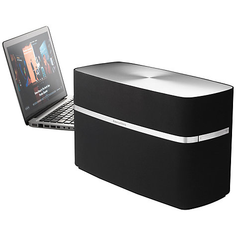 Buy B&W A7 Speaker with Apple AirPlay, Black Online at johnlewis.com